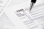 IRS 1040 Tax Form
